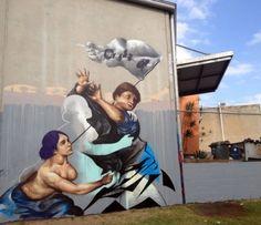 Fintan Magee New Walls @ Brisbane, Australia