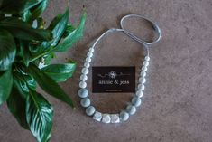 Image of Zoe Necklace Annie, Hoop Earrings, Beads, Frame, Jewelry, Beading, Picture Frame, Jewlery, Jewerly
