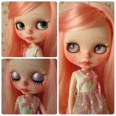 Reserved for M Custom Blythe OOAK art doll 'Ula' by Eskabelle