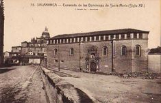 Salamanca en el ayer: Calle de Gran Vía Iglesias, Louvre, Building, Travel, Texts, Allegorical Sculpture, Window Sill, 15th Century, Palaces