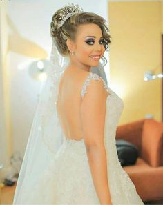 Our lovely bride Mariam congratulation my dear  wish you joyful life full of happiness & waiting ur professional photos   Call us to book your appointment   01066610177 / 01226445527   Address: 29 A  shams eldeen elzahaby street - Ard Elgolf - Heliopolis Working hours: 12pm - 9pm  Monday to Saturday  Instagram :  https://instagram.com/bridal_veil_egypt  Facebook : https://m.facebook.com/bridalveil.eg  #bridal_veil #trendy #beads #brides #ballgown #egyptbrides #weddingdresses #weddinggown…
