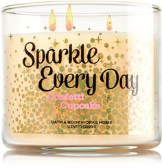 Sparkle Every Day 3-Wick Candle - Home Fragrance 1037181 - Bath & Body Works