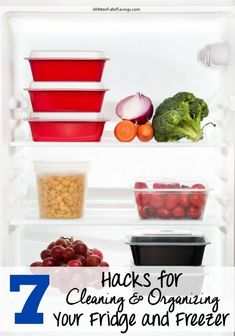 7 Hacks for cleaning