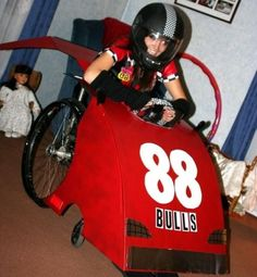 Awesome Racecar Wheelchair costumes