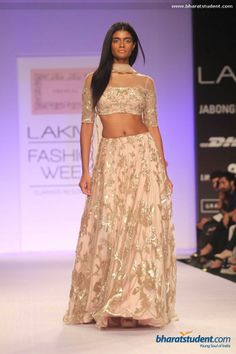 Shehlaa By Shehla Show at Lakme Fashion Week Summer/Resort 2014