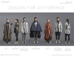 Professional: With the crisis in Syria happening, there is a large need for sustainable clothing.  This article discusses the multi purpose clothing designs created by a college student in order to accommodate struggling Syrian refugees.