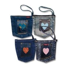 {Create a Denim Pocket Pouch} maybe make my own wristlet?