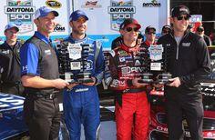 10 Things: What we've learned so far in Daytona Speedweeks | FOX Sports. Jeff Gordon & Jimmie Johnson qualified on front row.