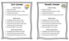 Personalization is important when creating checklists for either student or teacher use.
