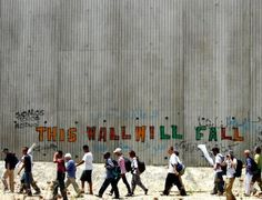 This wall must fall! Palestine