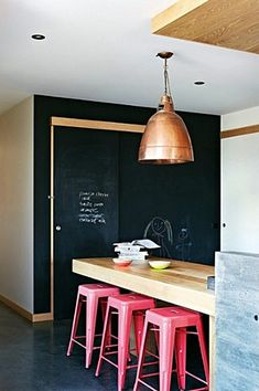 7 Eye-Opening Useful Ideas: Minimalist Home With Kids House Tours rustic minimalist bedroom home office.Minimalist Interior Apartment Modern Kitchens minimalist decor home interior design.Minimalist Home With Kids House Tours. Industrial Kitchen Design, Kitchen Interior, Industrial Kitchens, Cafe Interior, Interior Modern, Industrial Chic, Bathroom Interior, Sweet Home, Copper Lighting