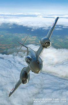 British Gloster Meteor.
