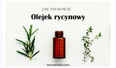 Olejek rycynowy na twarz Place Cards, Make Up, Place Card Holders, Beauty, Tips, Hair, Wax, Turmeric, Makeup
