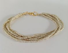 Gold bracelet, bridesmaid jewelry