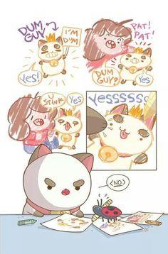 Bee and Puppycat,amo esta serie y en verdad quiero que saquen nuevos capítulos QnQ