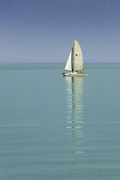 For me the Balaton the Riviera! Ocean Sailing, Ocean Waves, Stormy Waters, Small Sailboats, Amazing Pics, The Great Outdoors, Budapest, Countryside, Cool Photos