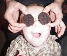 This is one cool Oreo cookie Fan. #OreoMoment