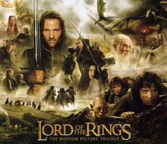 The Lord of the Rings Motion Picture Trilogy! Love them, my all time favorite movie series!!