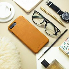 Good morning - by @causticaproduction - Leather Case for iPhone 7 available on mujjo.com or through resellers worldwide. #mujjo