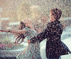 Bucket list- dance in the rain with my own Zach efron