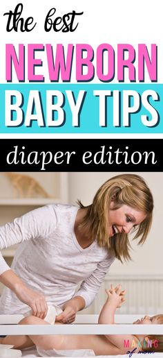 Newborn baby tips - Diaper changing tips and hacks for new parents! Moms, here's how to make life with a baby easier and less messy! For newborns and older babies - how to change diapers. Parenting tips for newborns. Newborn Baby Tips, Newborn Schedule, Baby Schedule, Newborn Care, New Parents, New Moms, Breastfeeding Tips, Baby Hacks, Baby Essentials