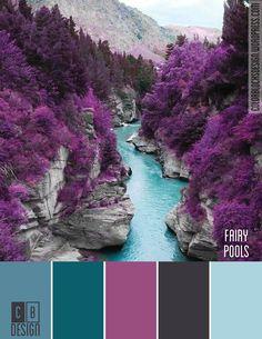 Colores fríos vivos. Fairy Pools, Escocia. #Inspiración