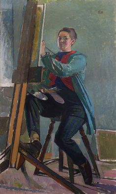 Evelyn Dunbar, Self-portrait, no date