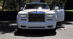 2015 Rolls-Royce Phantom Series II Extended Wheelbase in White at The Quail Lodge