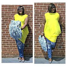 @iamnikkifree  #ootd #plussize #casual #instafashion #blogger #bbwfashion #fashion #curvee #fullfigured #pose #fashion #fashionista #picoftheday #bestoftheday #instastyle #style #fashiongram #curvyfashion  #confidence #beautiful #EffYourBeautyStandards #summer #yellow