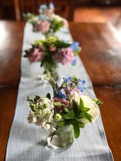 centerpieces with table runners at Boyden Barn. #vermontweddingflowers by floralartvt.com - Floral Artistry Fresh Flowers, Beautiful Flowers, Wedding Flowers, Wedding Day, Centerpieces, Table Decorations, Wedding Planning Tips, Vermont, Table Runners