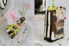 ... | Ice cream birthday cake, Birthday cakes and Cookie cake birthday