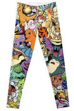 These Leggings Are Pokemaniacal