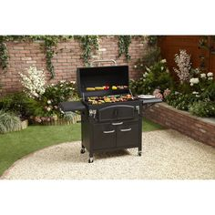 Enjoy cooking in your garden this summer with the Tennessee Deluxe Smoker BBQ. Featuring an adjustable charcoal tray with crank up system and heavy duty cooking grills and charcoal grates, the Tennessee Deluxe Smoker BBQ is the perfect addition to any garden party and allows you to cook a multitude of different foods in one go. With front access doors for easy charcoal refill and a chimney which can be used for smoking flavour, the Tennessee Delux Smoker BBQ is a versatile cooking apparatus…
