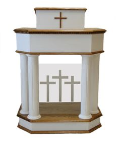church pulpit furniture | White Pulpits and Church Furniture | Colonial Church Furniture Sale ...