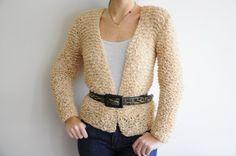 Glamorous Ladies Camel Jacket by aykelila on Etsy, $110.00