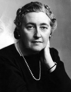 Agatha Christie (born 1890 in Devon, England; died-1976): She wrote over 70 detective novels featuring the Belgian detective, Hercule Poirot, or the inquiring village lady, Miss Marple. Her books have sold over a billion copies in English & another billion in over 45 foreign languages. She is outsold only by the Bible and Shakespeare. She was made a 'dame' in 1971. She died in 1976.