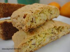 Orange - Almond Biscotti