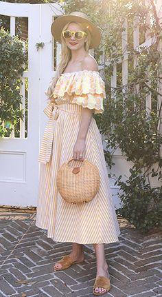 Sunshiny Yellow Dress