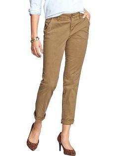 Women's Straight Khakis Product Image