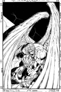 Angel//Joe Madureira/M/ Comic Art Community GALLERY OF COMIC ART