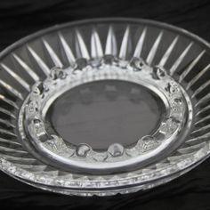 Glass Ashtray Elegant Vintage Glass on Etsy, $8.00