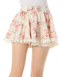 ☆WEB LIMITED☆花柄スカパン|スカパン | 渋谷109で人気のガーリーファッション リズリサ公式通販 LIZ LISA