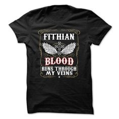Awesome Tee FITHIAN - Blood T shirts