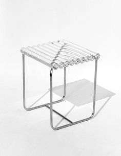 Jihye Kang's Purity Series Questions The Perceived Simplicity Of Materials - IGNANT Design Furniture, Home Decor Furniture, Chair Design, Cool Furniture, Bauhaus Furniture, Interior And Exterior, Interior Design, Chaise Vintage, Street Furniture