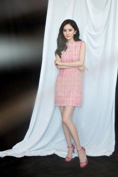 Asian Woman, Asian Girl, Girls Dresses, Formal Dresses, Korea Fashion, Chinese Actress, Real Style, Celebs, Celebrities