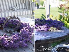 """creativLIVE: Lavendelkranz und """"Traumwohnen"""""""