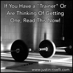 Dear anyone who has a trainer/coach or is thinking about working with one,  What should you watch out for when selecting or firing a coach?   You learn more in 1-3 sessions from a phenomenal coach, than you will in a lifetime from an average one.   In this recently published article I break down what to look for from the common hogwash, to the final straw. It's not what you think!  #trainer #coach #instafit #strengthcoach #crossfit #athletictraining #training #bodybuilding #goals #fatloss