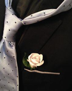 🌹#Wedding: Fiore all'occhiello #PaperFlower, costruito e realizzato a mano!🌹