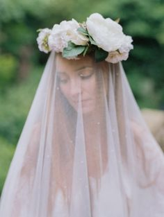 Birchbox Bride: This veil is what DREAMS are made of. (Photo: Laura Murray Photography via Wedding Sparrow)
