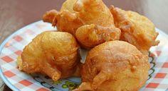 Recette de beignets de topinambours frits